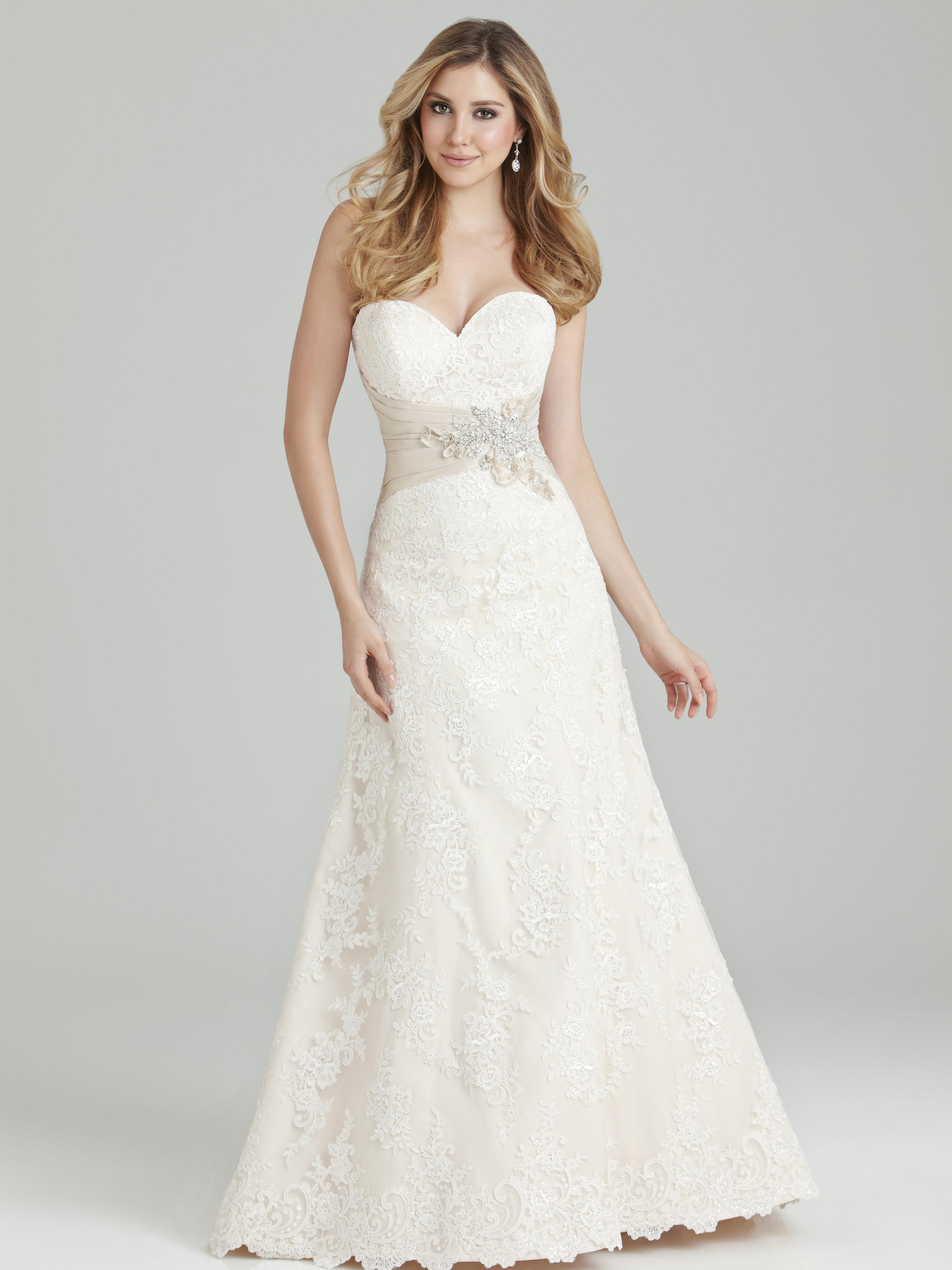 Marys Designer Bridal Boutique Allure Romance Wedding Gowns